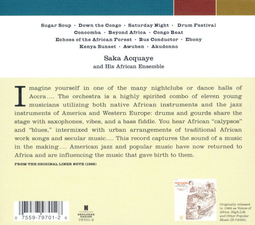 Voices of Africa: High Life & Other Popular Music