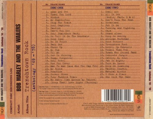 Trenchtown Rock: The Anthology 1969-78