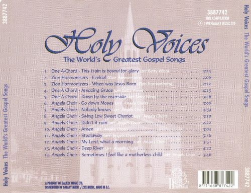 Holy Voices: The World's Greatest Gospel Songs