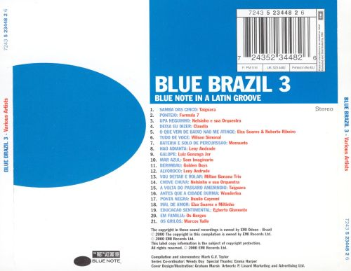 Blue Brazil, Vol. 3: Blue Note in a Latin Groove