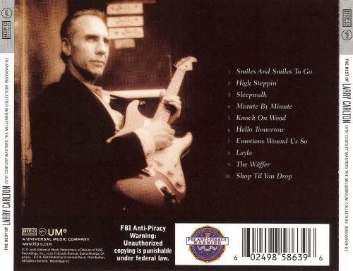 20th Century Masters - The Millennium Collection: The Best of Larry Carlton