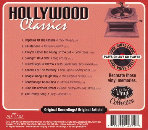 The Vinyl Collection: Hollywood Classics [St. Clair]