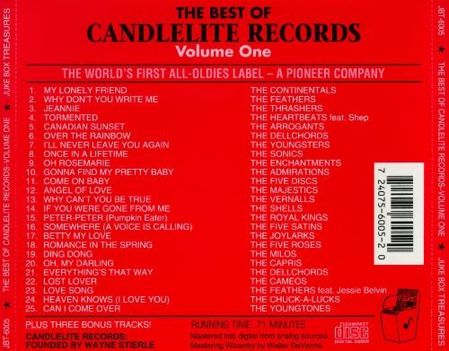 The Best of Candlelite Records, Vol. 1