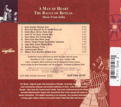 A Man of Heart, Music from India