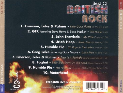 the best of british rock center stage various artists songs reviews credits allmusic. Black Bedroom Furniture Sets. Home Design Ideas