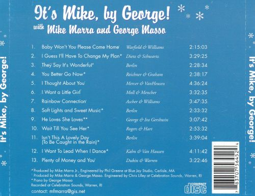 It's Mike, By George!