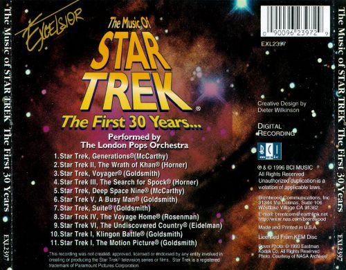 The Music of Star Trek: The First 30 Years....