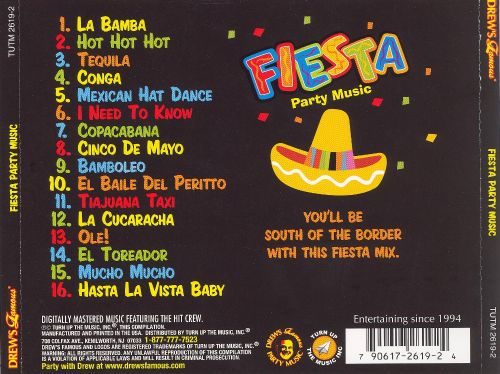 Drew's Famous Fiesta Party Music [2006]