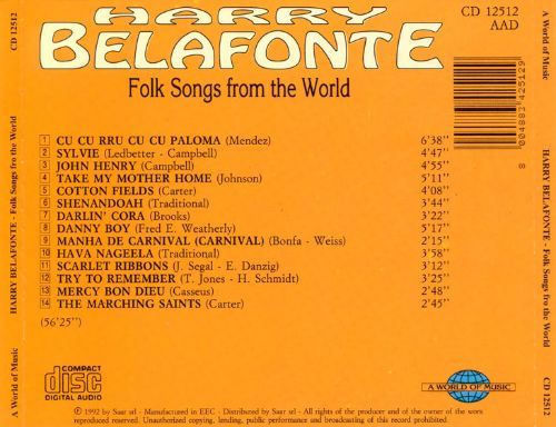 Folk Songs from the World
