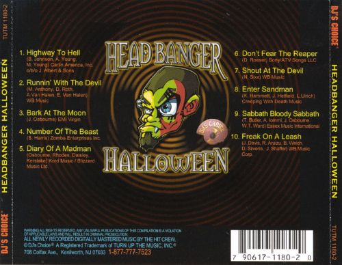 Head Banger Halloween