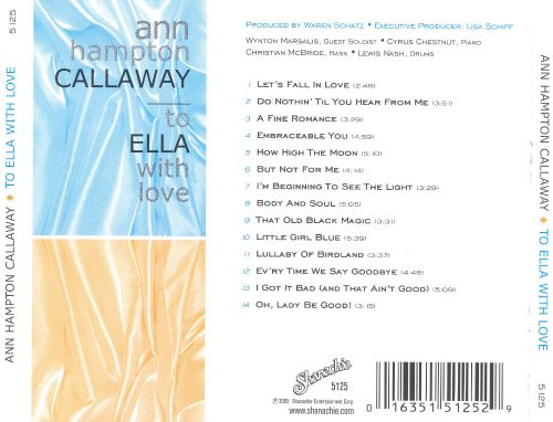To Ella with Love