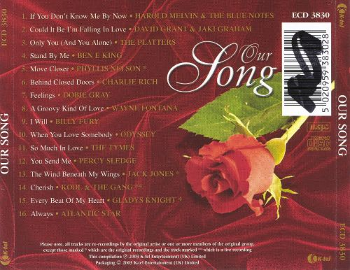 Our Song: 16 Songs of Eternal Love