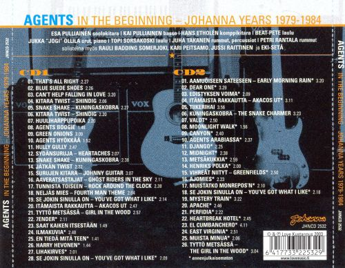 In the Beginning: Johanna Years 1979-1984
