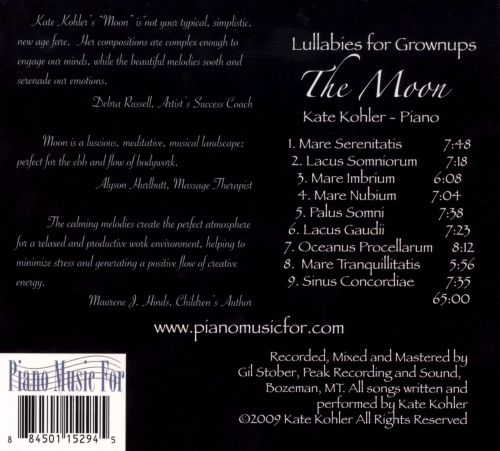 Lullabies for Grownups: The Moon
