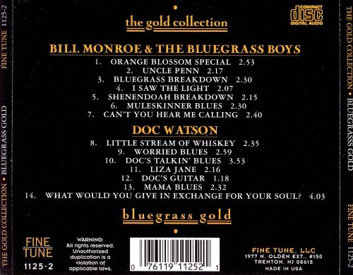 Bluegrass: The Gold Collection