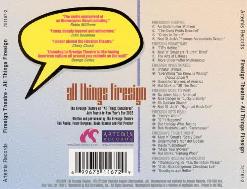 All Things Firesign