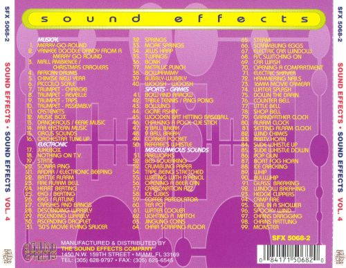 Ultimate Sound Effects: General Sound Effects