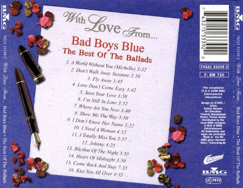 With Love from Bad Boys Blue
