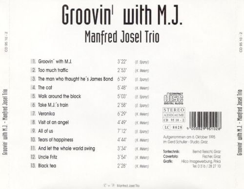 Groovin' with M.J.