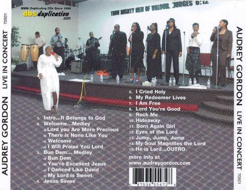 Jesus Is Lord- Live in Concert
