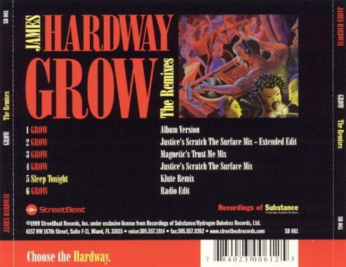 Grow (Remixes) [CD]