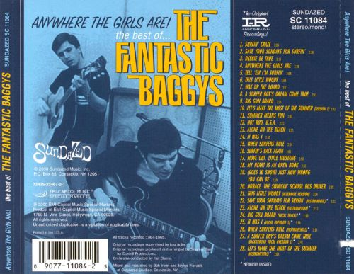 Anywhere the Girls Are!: The Best of Fantastic Baggys