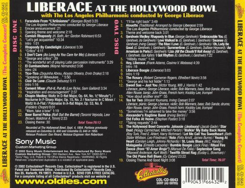 Liberace at the Hollywood Bowl (The Complete Concert)