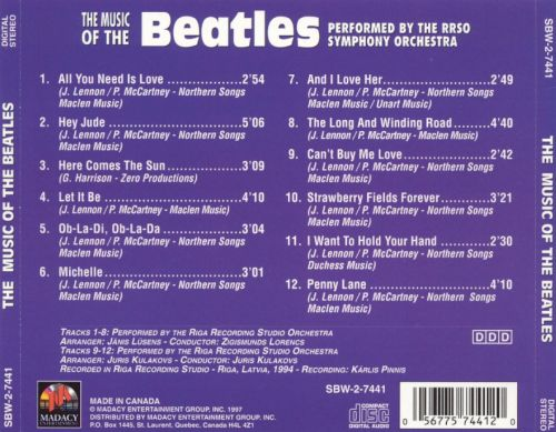 Music of the Beatles, Vol. 1