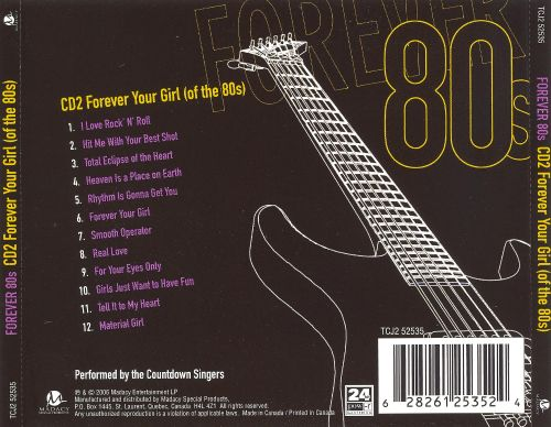 Forever 80's: Forever Your Girl (Of the 80's) [Disc 2]