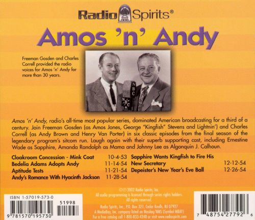 Radio Shows: Amos 'N' Andy