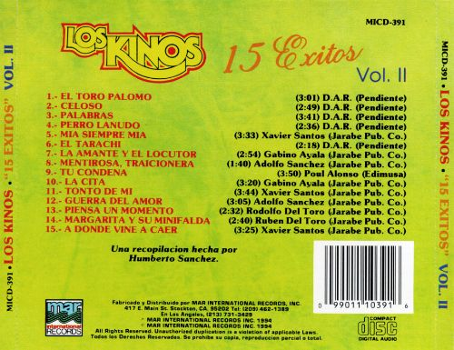 15 Exitos, Vol. 2