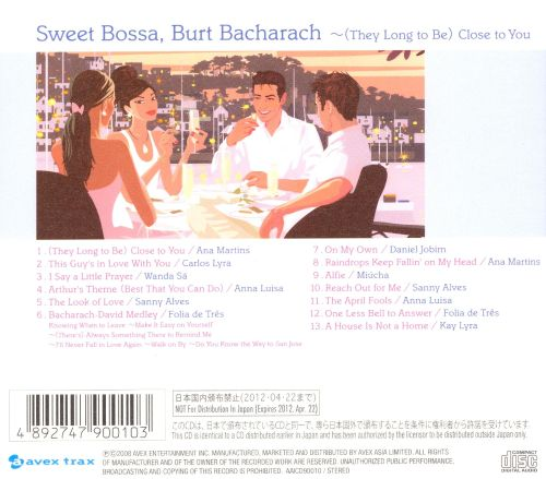 Sweet Bossa, Burt Bacharach: (They Long to Be) Close to You