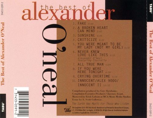 The Best of Alexander O'Neal