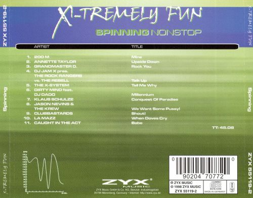 X-Tremely Fun: Spinning
