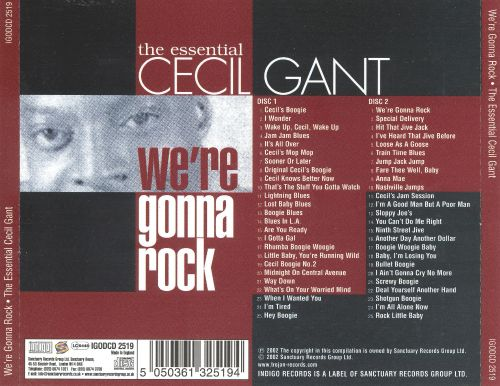 We're Gonna Rock: The Essential Cecil Gant