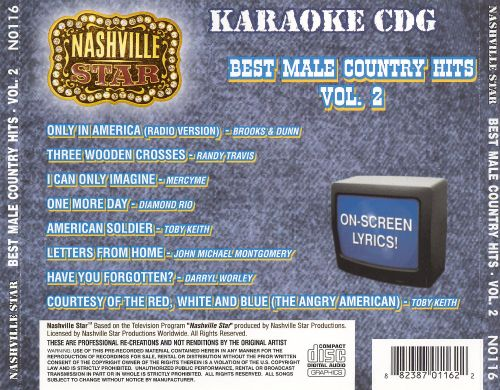 Nashville Star Best Male Country Hits, Vol. 2
