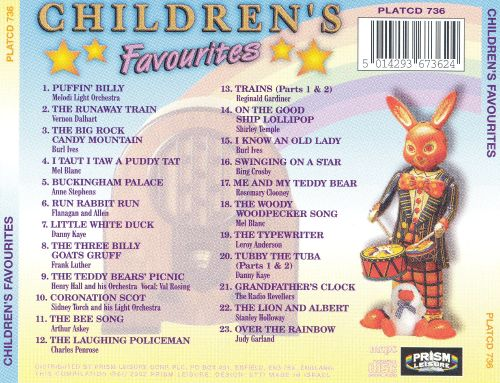 Children's Favorites: 23 Original Hit Recordings