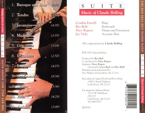 Suite: The Music of Claude Bolling
