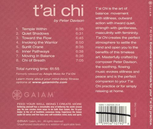T'Ai Chi: Evocative Instrumentals for Your T'Ai Chi Practice