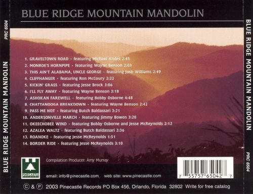 Blue Ridge Mountain Mandolin