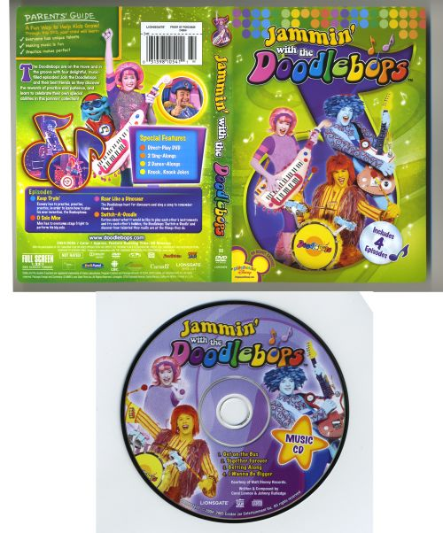Jammin' with the Doodlebops [DVD/CD]