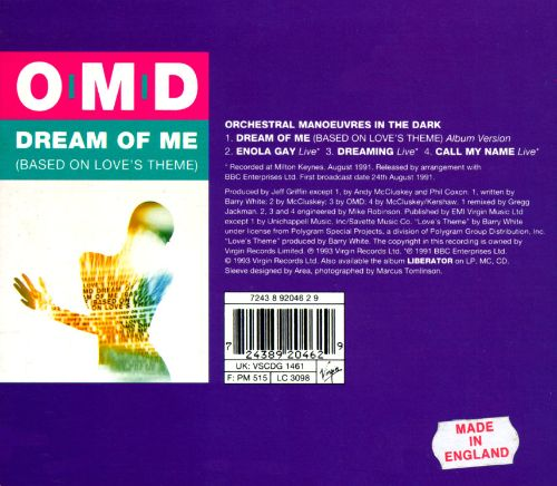 Dream of Me (Based on Love's Theme) [#1]