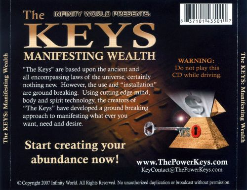 The Keys: Manifesting Wealth