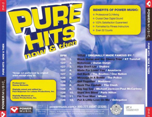 Pure Hits: Now and Then