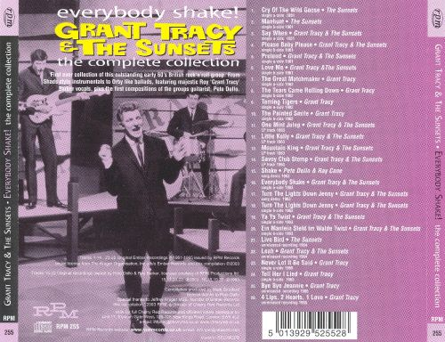 Everybody Shake: Grant Tracy & the Sunsets, the Complete Collection