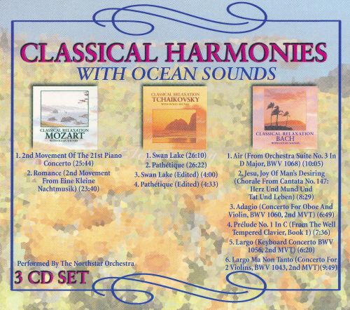 Classical Harmonies With Ocean Sounds