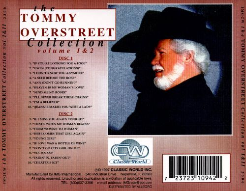 Tommy Overstreet Collection, Vol. 1-2
