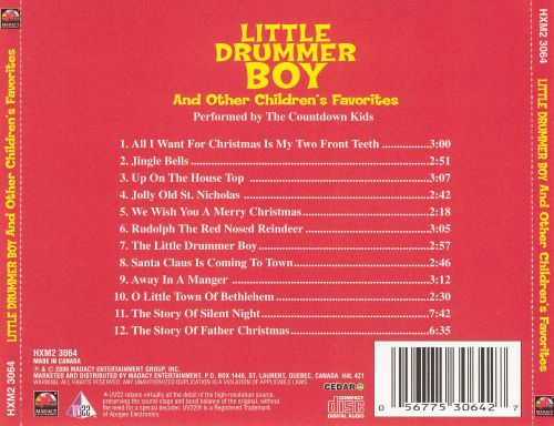 Little Drummer Boy and Other Children's Favorites
