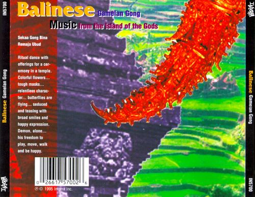 Music from the Island of the Gods: Balinese Gamelan Gong