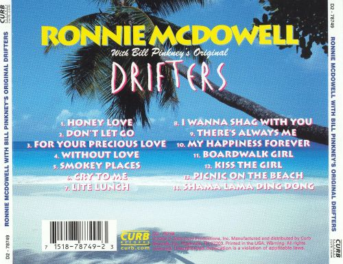 Ronnie McDowell with Bill Pinkney's Original Drifters